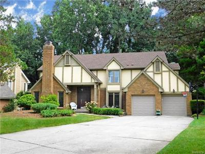 Farmington Hills Single Family Home For Sale: 30420 Fox Club Ct.