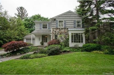 Birmingham Single Family Home For Sale: 1027 Suffield Avenue
