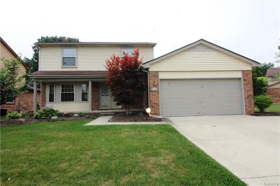 Livonia Single Family Home For Sale: 17457 Brookview Drive