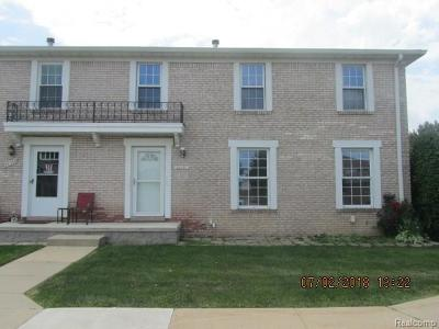 Brownstown Twp Condo/Townhouse For Sale: 28390 Brookfield