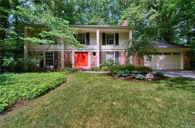 Troy Single Family Home For Sale: 3433 Beach Road