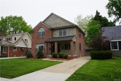 Birmingham Single Family Home For Sale: 1949 Maryland Boulevard