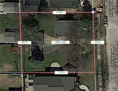 Royal Oak Residential Lots & Land For Sale: McLean Avenue