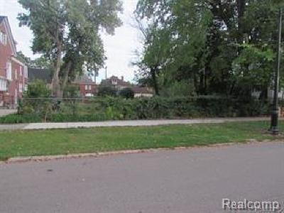 Detroit Residential Lots & Land For Sale: 141 Edison Street