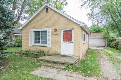 Farmington Hills Single Family Home For Sale: 21795 Waldron Street