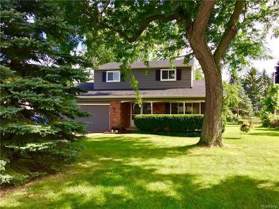 Romeo Vlg, Bruce Twp, Washington Twp Single Family Home For Sale: 11378 N Crestline Drive