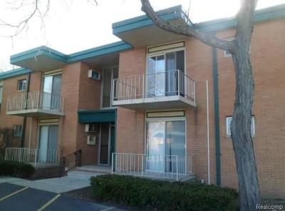 Troy Condo/Townhouse For Sale: 1850 Axtell Drive