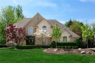 Farmington Single Family Home For Sale: 38051 Turnberry Court
