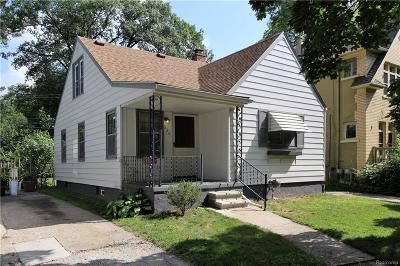 Ferndale Single Family Home For Sale: 334 W Chesterfield Street
