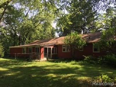 Canton Single Family Home For Sale: 7015 N Beck Road