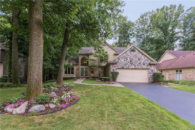 West Bloomfield, West Bloomfield Twp Single Family Home For Sale: 6143 Mission Drive