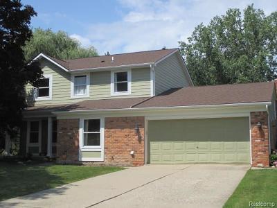 Troy Single Family Home For Sale: 3066 Roxbury Drive
