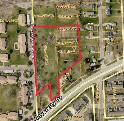 Residential Lots & Land For Sale: University