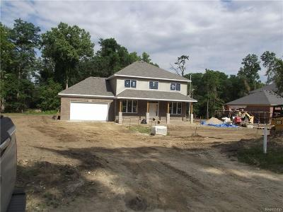 Northville Single Family Home For Sale: 16610 Franklin Road