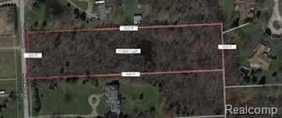 West Bloomfield Twp Residential Lots & Land For Sale: Northwood Dr.