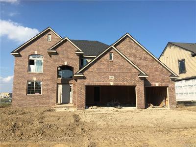 Macomb Twp Single Family Home For Sale: 22047 Rivanna Drive