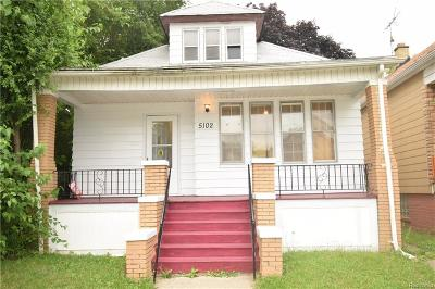 Hamtramck Single Family Home For Sale: 5102 Belmont Street