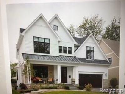 Troy Single Family Home For Sale: Dashwood Drive