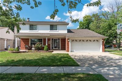 Dearborn Heights Single Family Home For Sale: 26516 Sheahan Drive