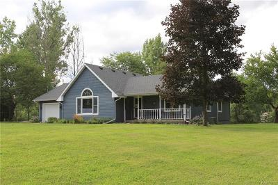 White Lake Single Family Home For Sale: 5473 Cedar Island