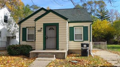 Detroit MI Single Family Home For Sale: $45,000