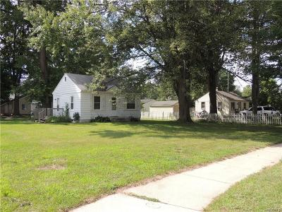 Farmington Hills Single Family Home For Sale: 21209 Farmington Road