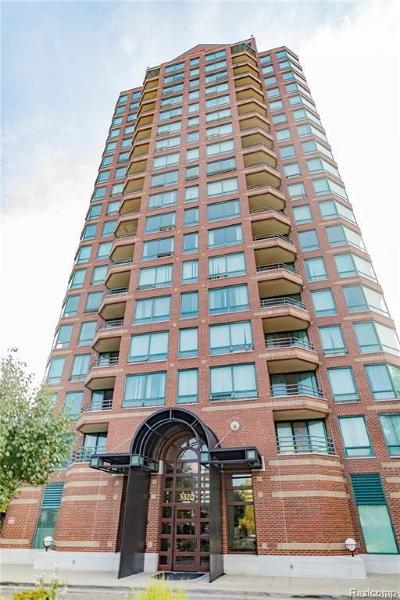 Detroit Condo/Townhouse For Sale: 3320 Spinnaker Lane #11D