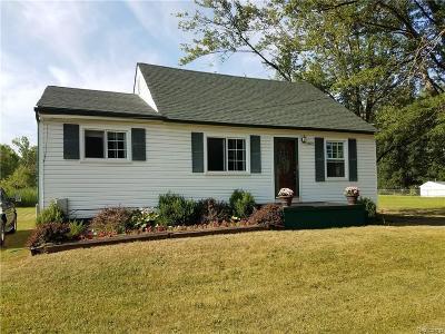 Van Buren, Van Buren Twp Single Family Home For Sale: 44429 Tyler Road