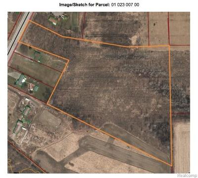 Monroe County Commercial Lots & Land For Sale: 11940 Telegraph Road