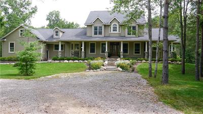 Brandon Twp Single Family Home For Sale: 3231 Allen Road