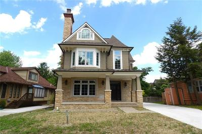 Birmingham Single Family Home For Sale: 909 Southfield Road