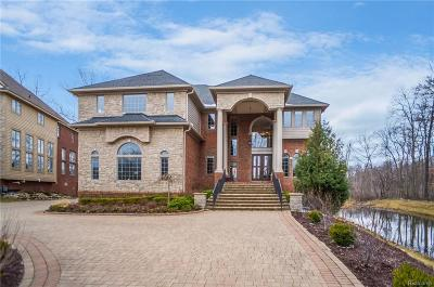 West Bloomfield Twp Single Family Home For Sale: 5650 Branford Drive