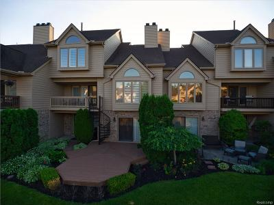 Northville MI Condo/Townhouse For Sale: $450,000