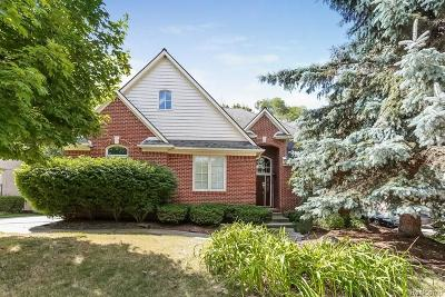 Farmington Hills Single Family Home For Sale: 27249 Cambridge Lane