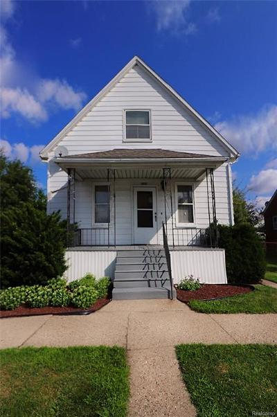Hamtramck Single Family Home For Sale: 3827 Belmont Street