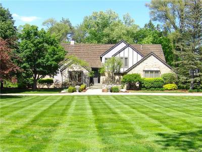 Bingham Farms Vlg Single Family Home For Sale: 32630 Bingham Road