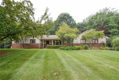 Milford Twp Single Family Home For Sale: 1181 Pine Ridge Court
