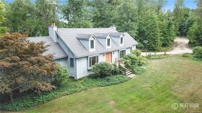 Livingston County Single Family Home For Sale