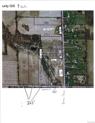 Ray Twp Residential Lots & Land For Sale: 65625 Romeo Plank Road