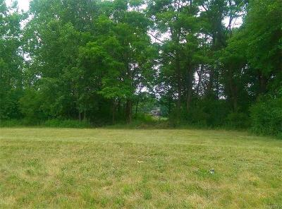 Waterford Twp Residential Lots & Land For Sale: Lot A Walton