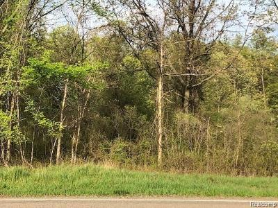 Highland Twp Residential Lots & Land For Sale: Vacant 1 North Milford