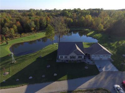 Calhoun County Single Family Home For Sale: 3707 9 1/2 Mile Road