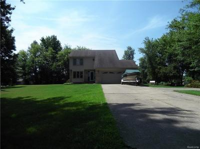 Huron Twp Single Family Home For Sale: 36115 Felt. Road