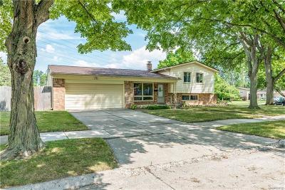 Ferndale,  Royal Oak, Berkley Single Family Home For Sale: 2922 Woodland Court