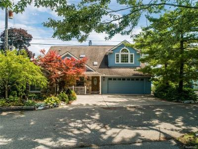 West Bloomfield Twp Single Family Home For Sale: 2595 Warner Drive