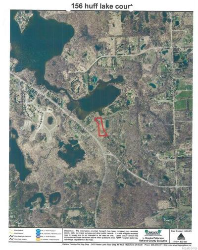 Brandon Twp MI Residential Lots & Land For Sale: $55,000