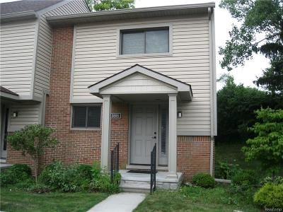 Troy Condo/Townhouse For Sale: 3855 Old Creek Road