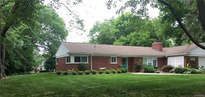 Northville Single Family Home For Sale: 46926 Dunsany Road