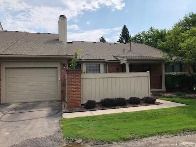 West Bloomfield Twp Condo/Townhouse For Sale: 7108 Green Farm Road #103