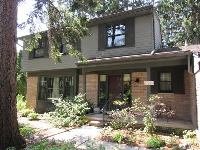 Novi Single Family Home For Sale: 23229 Gilbar Street